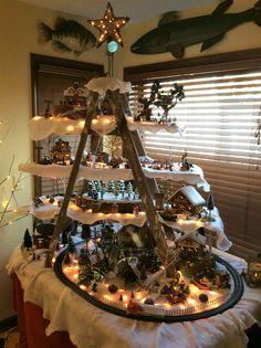 Lake & Forest Christmas Village Theme Kim Richardson Emery 2016