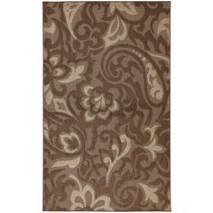 Mohawk Forte Dark Cocoa,Taupe and Coconut 10 ft. x 13 ft. Area Rug-289256 at The Home Depot