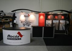 10' x 20' Custom Modular Trade Show Display Rental Layout. Includes FREE graphic design and artwork file prep.