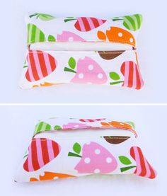 love these. I carry pocket tissues everywhere. They're in my purse, in my car, etc. But, these would make carrying them a bit more fun, wouldn't you say? Find more here.