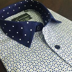 Polka dots Floral Print = Trendy! Agree? Design your own custom shirts at 16stitches.com. #menswear #mensstyle #mensfashion #summer #style #fashion #trend #trendy #shirts #luxury #formal #formals #formalwear #classy #classic #classymen #dapper #dappermen #instalike #instagood #bespoke #suited #suitup Italian Shirts, Style Fashion, Mens Fashion, Man Shirt, Suit Up, Classy Men, Men Wear, Dapper Men, Men Clothes
