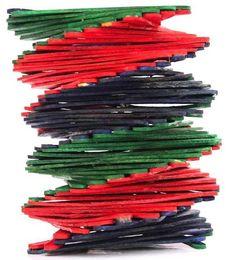 Spiral Vase Dimension : 14cm x 16cm http://kalajagat.com/crafts Rs/- 500