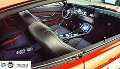 djdesigns 70 chevelle #BecauseSS fesler door panels custom custom console double din dash double diamond stitch interior Shaun Hewitt ss shaun orange silver black