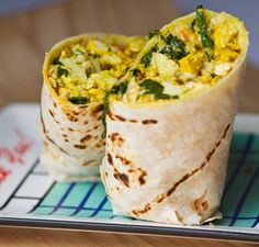 Vegan Breakfast Burritos