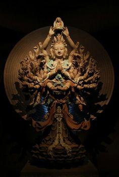 Thousand-armed Thousand-eyed Avalokitesvara Bodhisattva 千手千眼觀世音菩薩