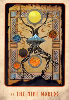 Gallery of Images from the Rune Cards Deck. Norse Pagan, Pagan Art, Norse Mythology, Alchemy Symbols, Norse Symbols, Viking Facts, Norse Religion, Oracle Tarot, Oracle Deck