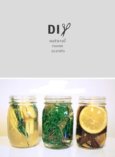 diy-make-natural-room-scents-craft + floating candles = perfect Christmas Gift!