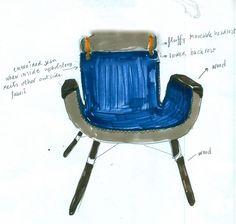 colorful UN east river chair by hella jongerius for vitra #milandesignweek #milandesignweek2014 #isaloni