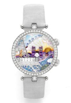 Best Women's Watches of the Year – GPHG 2012 Awards Preselected Ladies' Watches --- Van Cleef & Arpels Lady Poetic Wish Watch