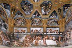 Giulio Romano. Pallazo del Te. Sala del psique - Buscar con Google