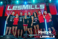 The Les Mills team
