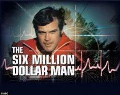 The Six Million Dollar Man - 1973-1978 Steve Austin- Lee Majors