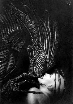 Aliens cover art by John Bolton. ☀