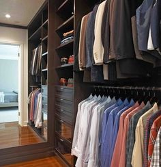 43 Highly Organized Closet Ideas - Dream Closets | RemoveandReplace.com