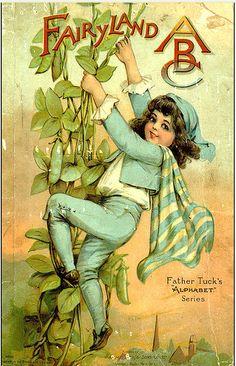 Fairyland ABC | Father Tuck's Alphabet Series | Grace Floyd (1880's).