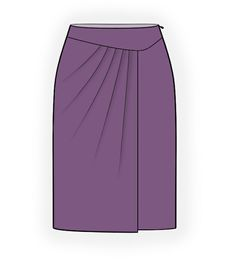 Skirt With Pleats - Sewing Pattern Made-to-measure sewing pattern from Lekala with free onlin Skirt Pattern Free, Skirt Patterns Sewing, Skirt Outfits, Dress Skirt, Concept Clothing, Dress Tutorials, Straight Skirt, Cute Skirts, Classy Outfits