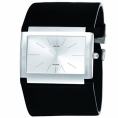 CK Calvin Klein Women's K5911126 Wide Rectangular Watch CK Calvin Klein, http://www.amazon.com/dp/B00705D0K0/ref=cm_sw_r_pi_dp_ZoD-pb12HPGEC