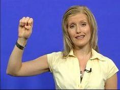 Sign Language Lessons: Alphabet & Numbers : Sign Language Alphabet Lesson
