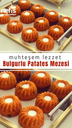 Bulgurlu-Kartoffel-Aperitif - köstliche Rezepte, potato al horno asadas fritas recetas diet diet plan diet recipes recipes Meze Recipes, Best Appetizer Recipes, Crockpot Recipes, Dessert Recipes, Recipes Dinner, Asian Recipes, Make Ahead Meals, Meals For Two, Easy Meals