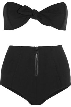 Lisa Marie Fernandez|Poppy bandeau bikini|NET-A-PORTER.COM