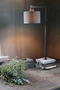 Desk Lamp, Table Lamp, Rustic Chic, Room Inspiration, Family Room, Sweet Home, House Design, Interior Design, Lighting