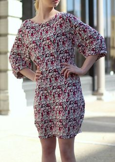 FASHION FIT FUNCTION: Styling a Busy Pattern Dress