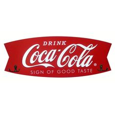 Coca-Cola Fishtail Coat Rack #CocaCola