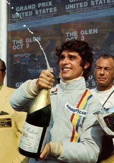 François Cevert, Winner of the United States Grand Prix 1971 Jackie Stewart, Sport Cars, Race Cars, Motor Sport, Grand Prix, Le Mans, Nascar, Gp Formula, Gilles Villeneuve