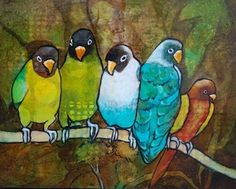 Birds of a Feather - Linda Bell  AFCA