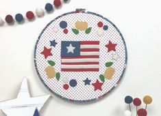 How to Make a Chapstick Holder Keychain with Riley Blake Designs Fabric Wool Applique, Applique Quilts, Toddler Diaper Bag, Chapstick Holder, Blanket Stitch, Running Stitch, Cactus Print, Patriotic Decorations, Coordinating Colors
