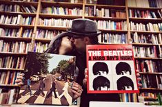 Beatles inspired engagement photos. oh my gosh, I love this idea!! Totally wanna do this!!!!!!