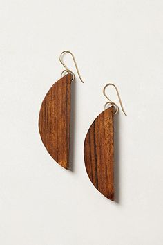 Half Moon Drops #anthropologie 88$ I am sure I can make for a fraction of that price!