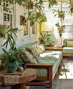 Outdoor Rooms, Outdoor Gardens, Outdoor Living, Outdoor Decor, Shed Interior, Interior Design, Conservatory Decor, Bed Cover Design, Outside Room