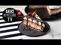 Τούρτα Παγωτό Επ. 60 | Kitchen Lab TV | Άκης Πετρετζίκης - YouTube Ice Cream Recipes, Greek Recipes, Biscotti, Tiramisu, Cheesecake, Sweet Home, Cooking, Ethnic Recipes, Desserts