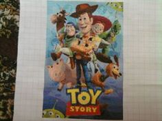 Toy Story. Chart made with pic2pat