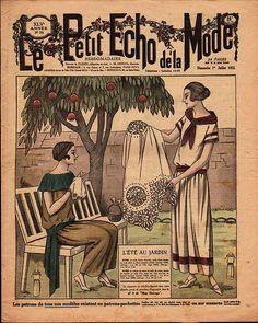 1920 Le Petit Echo de la Mode