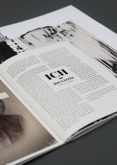 Double Spread Layout Inspiration by Annabell Ritschel  DPS, Layout, Graphic Design, Editorial Design, Double page spread
