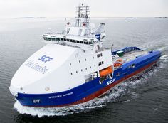 Arctic Offshore Supply Vessel Aleksey Chirikov Named in Finland