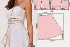 6 стильных выкроек платьев, которые идеально подойдут на любую фигуру! - Своими руками... Да!