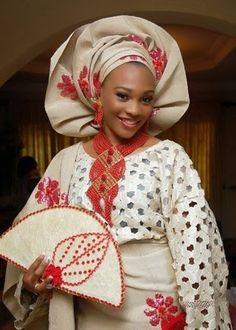 African Clothing:Nigeria Wedding Aso oke Designs