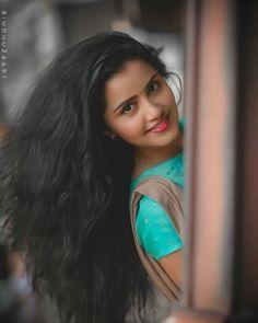 Anupama Parameswaran ♥️ in 2020 Beautiful Girl In India, Beautiful Girl Photo, Beautiful Bollywood Actress, Most Beautiful Indian Actress, Beauty Full Girl, Beauty Women, Wavey Hair, Beauty Crush, Cute Girl Poses