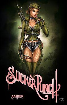 Amber Suckerpunch by jamietyndall.deviantart.com on @deviantART
