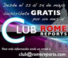 http://www.romereports.com/palio/modules.php?name=Club Para la suscripción gratuita se precisa que envíes la siguiente información a esta dirección de correo electrónico: club@romereports.com Nombre: Apellido: Email: País: Idioma: