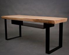 YOUR CUSTOM Live Edge Black Walnut Coffee Table от ElpisWorks