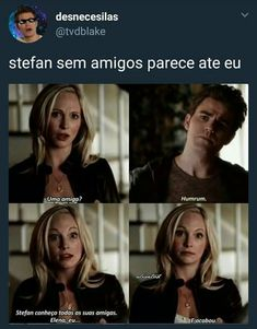 Delena, Serie The Vampire Diaries, Vampire Diaries The Originals, Caroline Forbes, Stefan Salvatore, The Cw, Klaus Tvd, Relationship Posts, Relationships