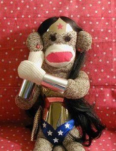 Wonder woman monkey