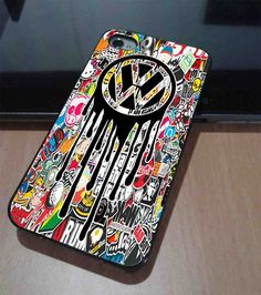 VW STICKER bomb VOLKSWAGEN customized iPhone case for by Pertamax d8a43994f90