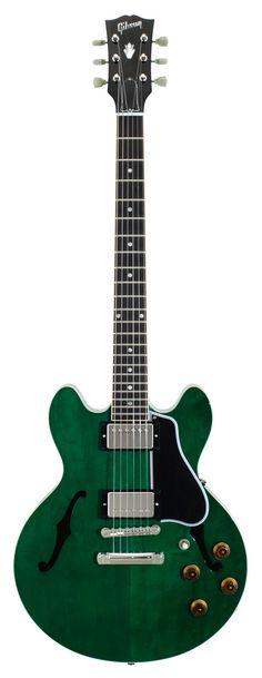 Gibson Custom Shop CS 336 Trans Green   Rainbow Guitars