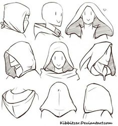 New Ideas drawing tutorial manga face character design references Drawing Body Poses, Drawing Reference Poses, Male Pose Reference, Hand Reference, Drawing Techniques, Drawing Tips, Drawing Art, Drawing Faces, Drawing Hoods
