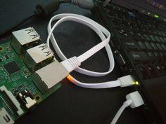 Raspberry Pi connecté sur un Thinkpad